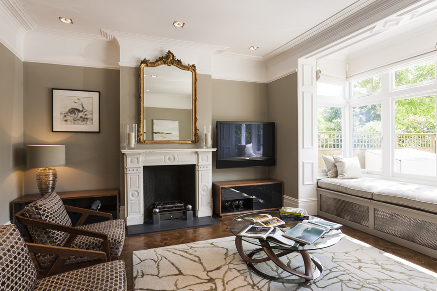 Alex cotton interiors residential interior design london for The interior designer