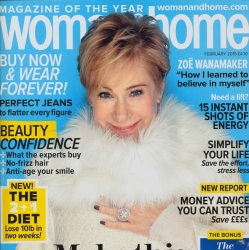 Woman and Home cover