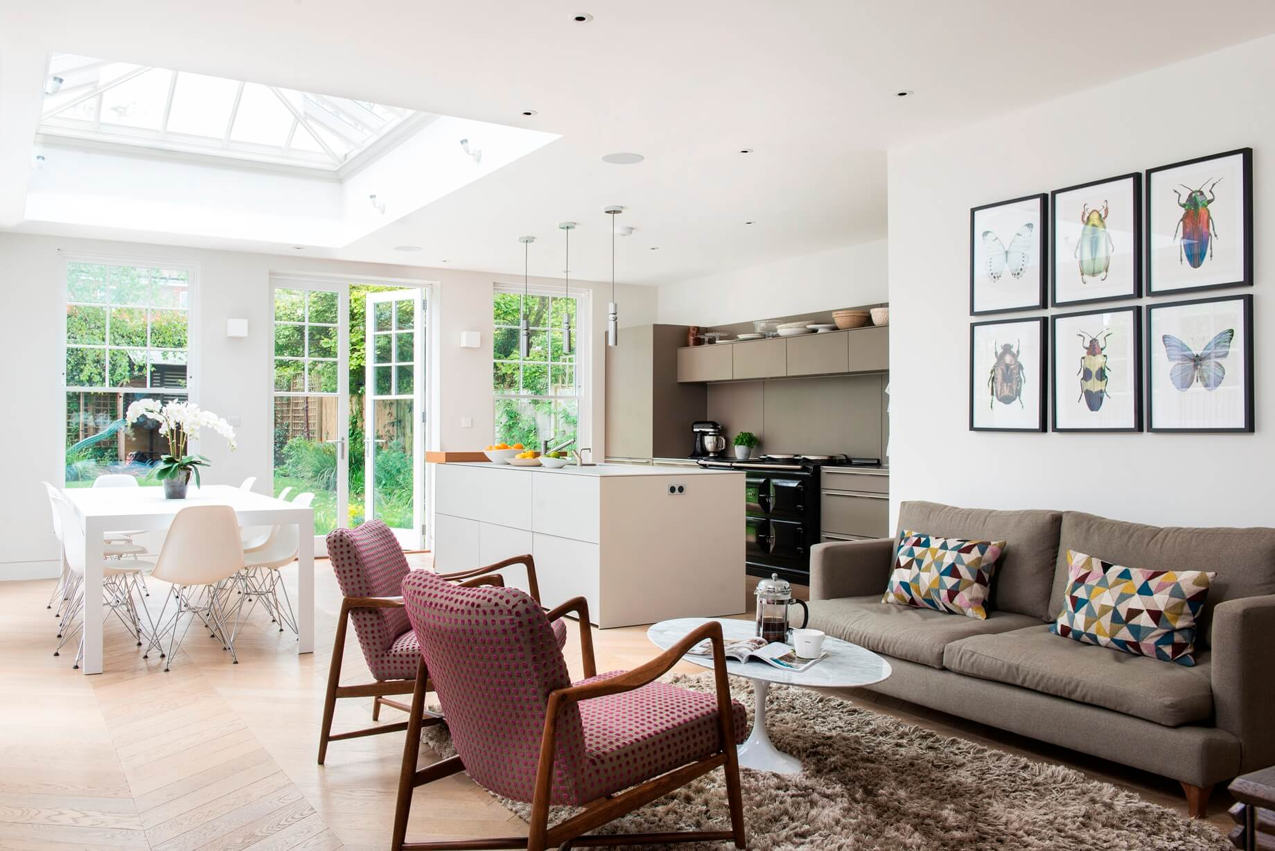 Alex Cotton Interiors - Edwardian Family Home Putney South West London